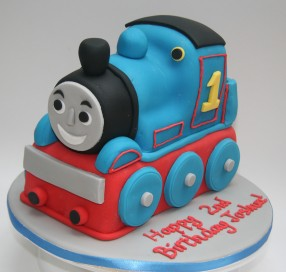 Thomas the Tank Engine Cake - 3D